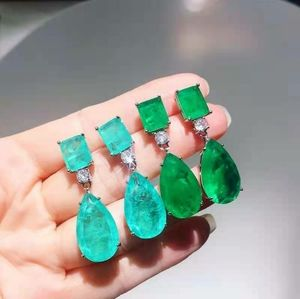 Angelina Inspired Red Carpet Emerald Earrings